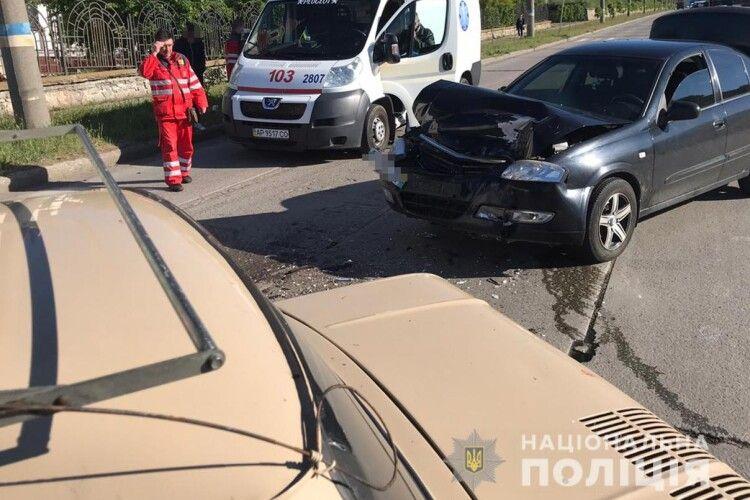 Водій «Запорожця» помер за кермом і потрапив у ДТП – поліція