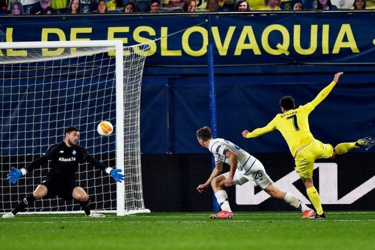 «Динамо» знову поступається «Вільярреалу» й услід за «Шахтарем» вилітає з Ліги Європи