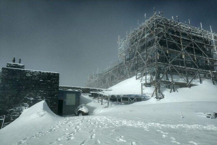 У Карпатах за ніч випало майже 20 см снігу