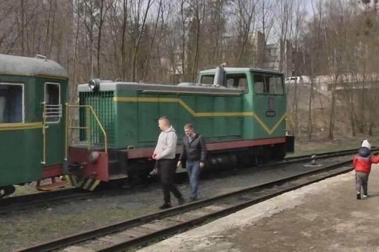 Із Луцької дитячої залізниці вивезли майно (Відео)