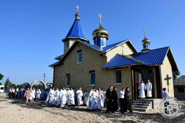 У селі Брониця—  новий храм