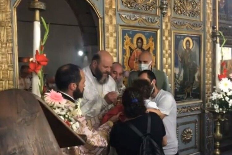 Владика Михаїл зустрівся із Вселенським патріархом на острові Імброс і відправив Літургію (Фото. Відео)