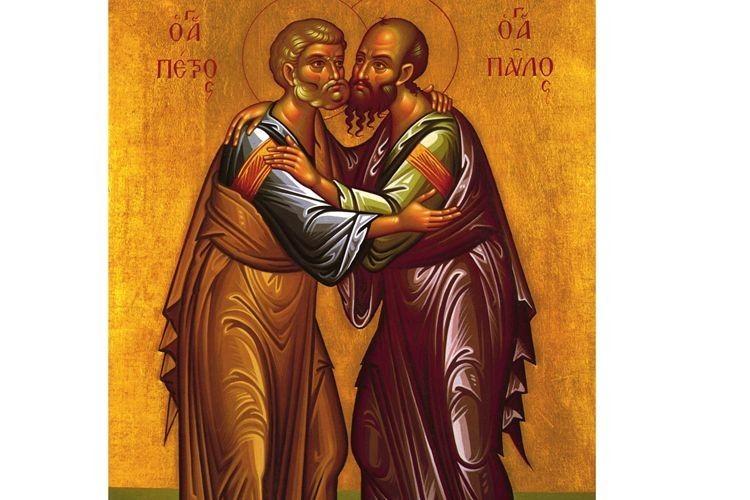 Апостоли Петро іПавло вреальному житті незнали один одного