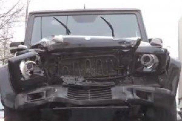 За розбите авто кума Путіна чоловікові загрожує 15 років тюрми