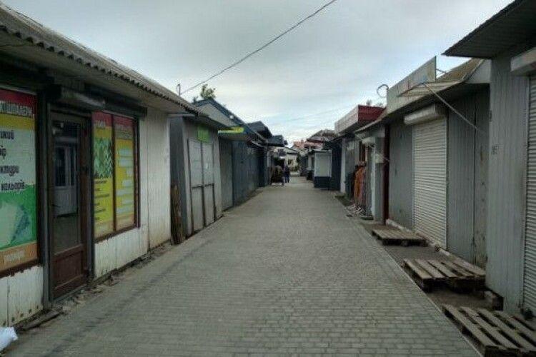Ринок у волинському селищі працюватиме по суботах