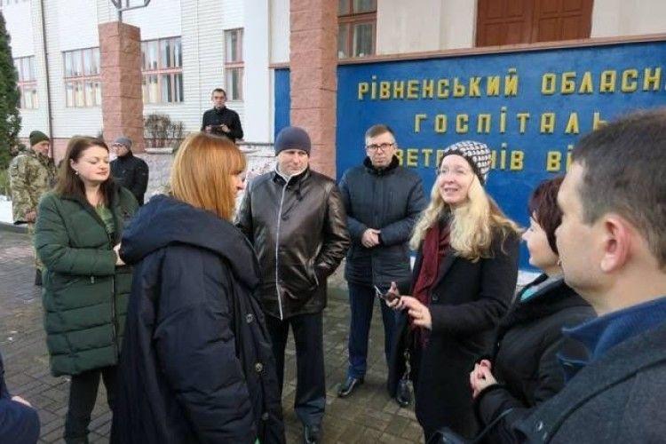 Як Людмила Супрун на Рівненщині щеплення робила і не лише...