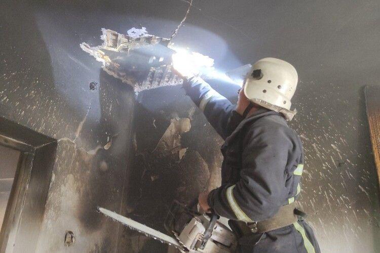 На Горохівщині через холодильник горіла хата: подробиці (Фото)