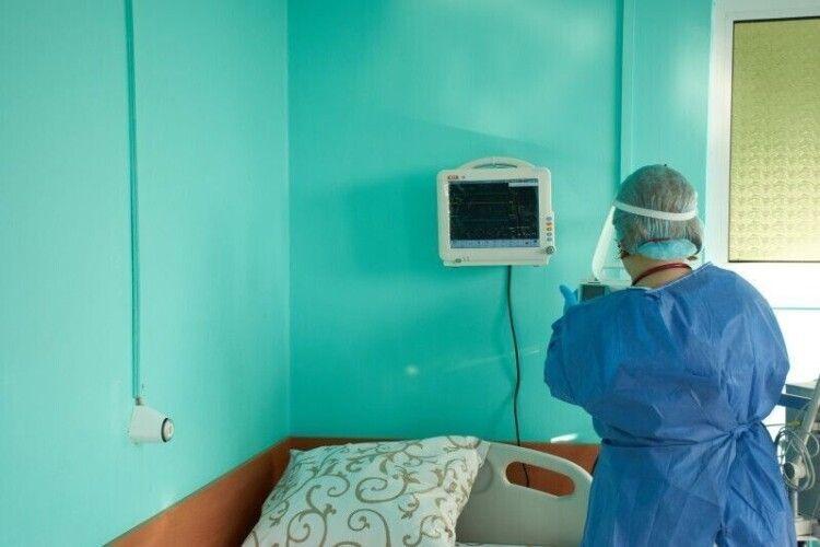 У коронавірусному шпиталі на базі Луцького пологового лікують 11 пацієнтів