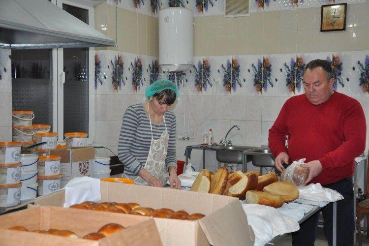 Пироги, вареники та хліб ... (Фото)