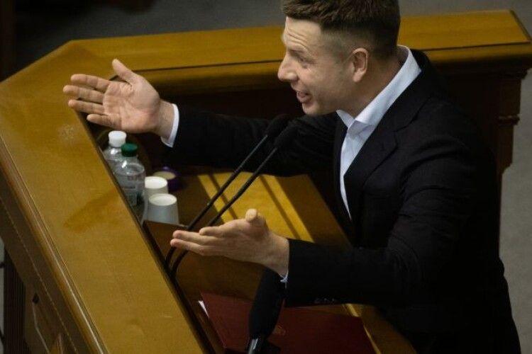 Фракція Зеленського і ОПЗЖ спільно блокують розслідування «вагнергейту» – Гончаренко