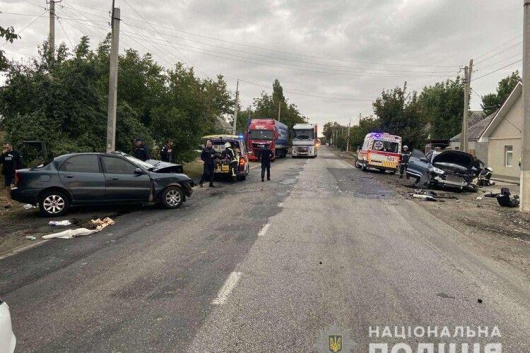 У страшній ДТП на Миколаївщині загинув водій