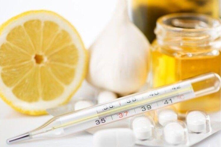 Де на Волині найбільше хворих на грип