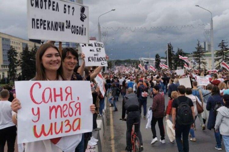 У Білорусі почали відраховувати студентів, які протестують проти Лукашенка