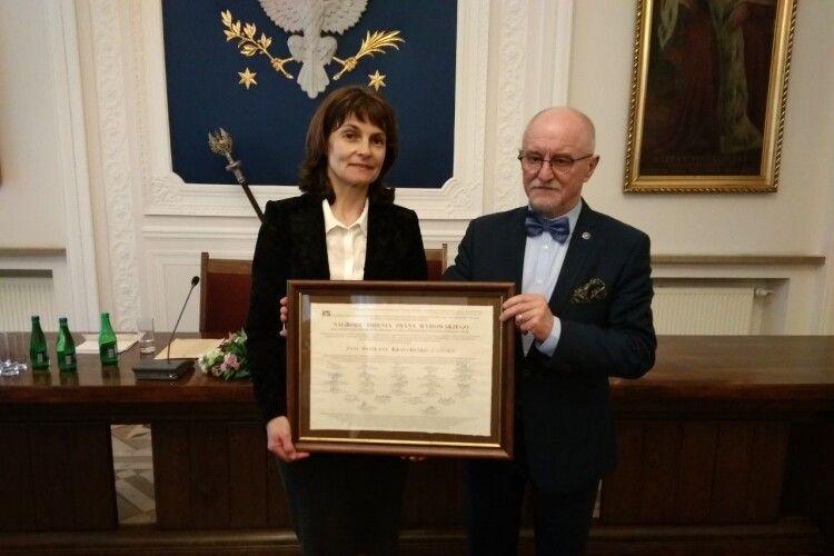 Волинські науковці привезли нагороди з Польщі