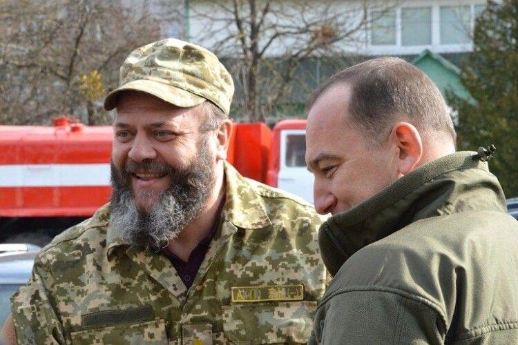 На Волині митрополит та депутати посадили три гектари лісу (Фото)