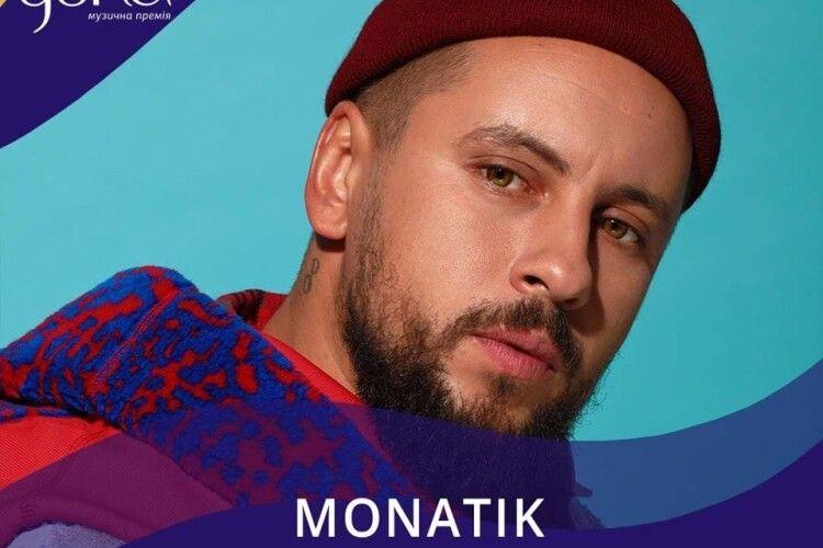 Із 13 номінацій музичної премії, артист з Луцька здобув - 5