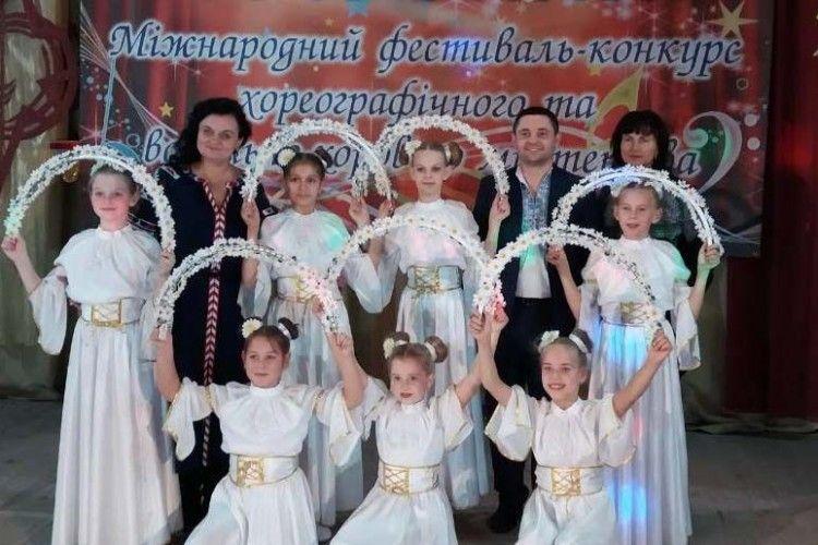 Горохівські міс підкорили танцювальний олімп у Києві та Сокалі!