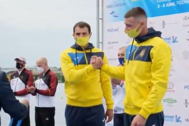 Ковельчанин у Польщі став бронзовим чемпіоном Європи в каное-двійці