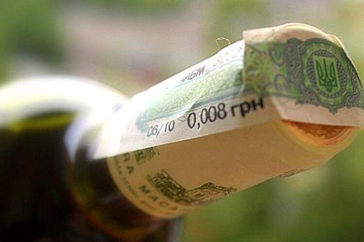 На ринку реалізації алкоголю і тютюну проведено майже сто фактичних перевірок волинського бізнесу