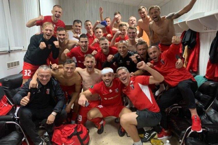 Рівненський «Верес» виходить в 1/16 розіграшу Кубку України