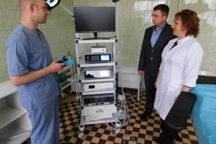 Хірурги Гощанської центральної районної лікарні отримали нове обладнання