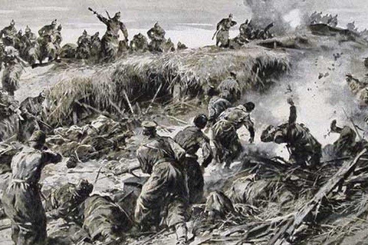 У Першій світовій війні «газові прямокутники» вперше застосували на Волині