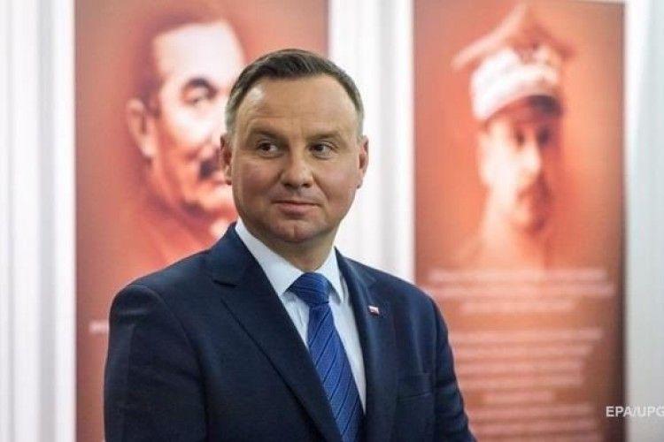 Президент Польщі очікує від України конкретних кроків