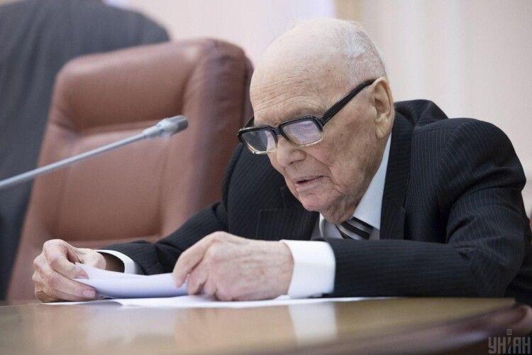 Помер Борис Патон