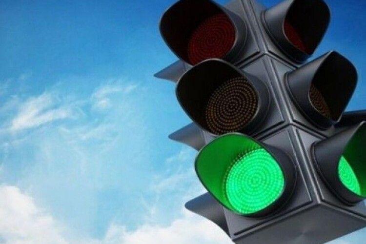У центрі Луцька пропонують посунути світлофор до перехрестя