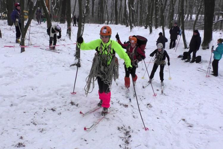 На Волині змагалися лижники (Фото)