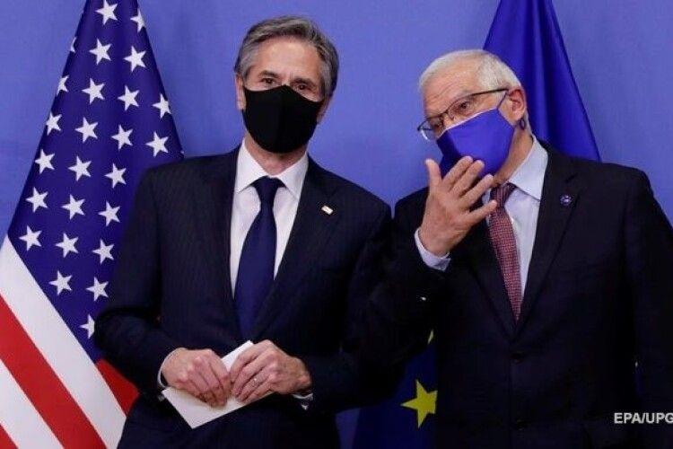 Блінкен і Боррель провели переговори щодо України