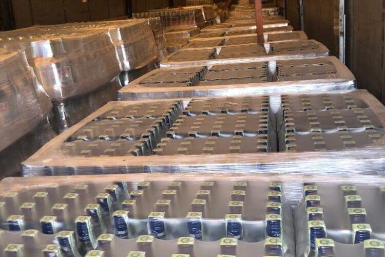 У районі ООС вилучено алкогольний фальсифікат на суму майже 10 млн грн