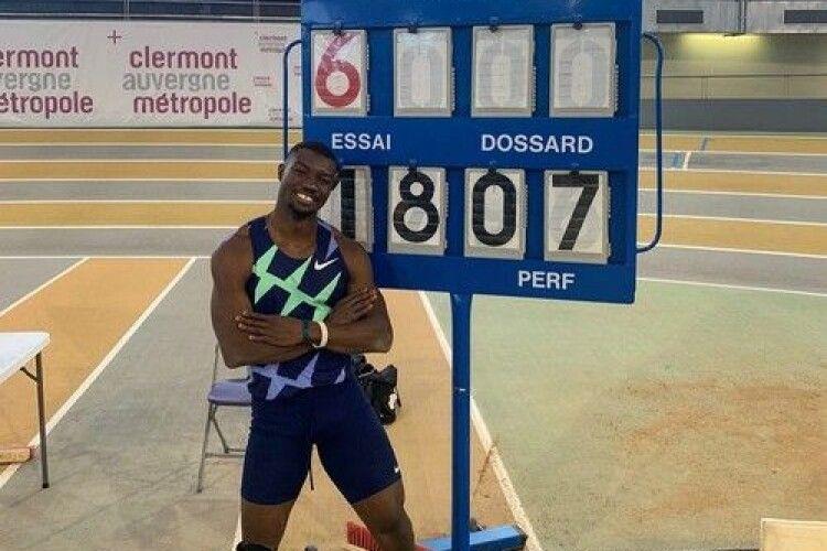 Легкоатлет з Буркіна-Фасо встановив новий світовий рекорд у потрійному стрибку
