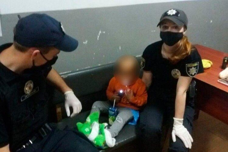 У Луцьку в товарному вагоні патрульні знайшли п'яну жінку з дитиною