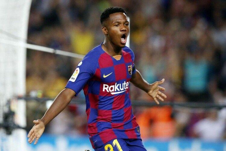 «Барселона» віддала номер Ліонеля Мессі 18-річному Ансу Фаті
