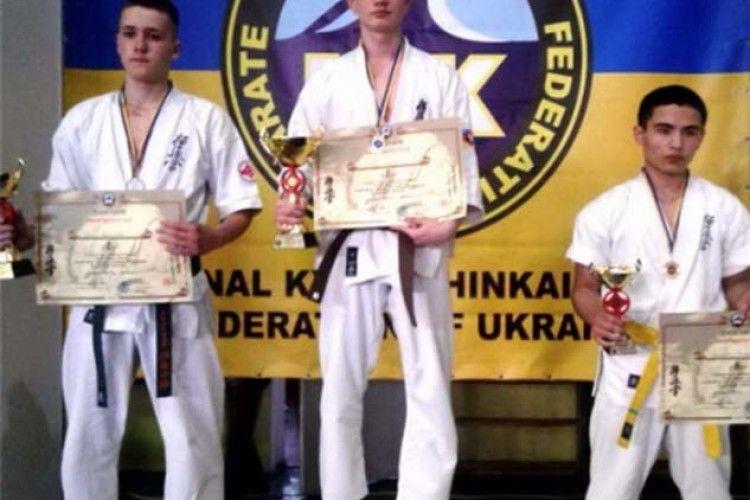 Юний луцький каратист - чемпіон України