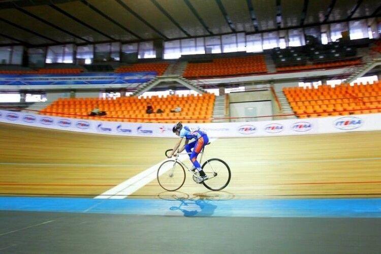 Волинянка стала триразовою чемпіонкою України з велоспорту на треку