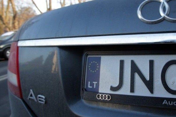 Верховна Рада посилила контроль за автомобілями на євробляхах