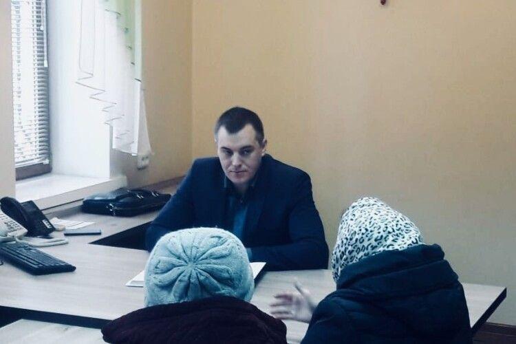 Прокурор області приймав громадян у Ковелі