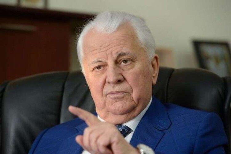 Росія дійсно поставила ультиматум щодо Донбасу – Леонід Кравчук
