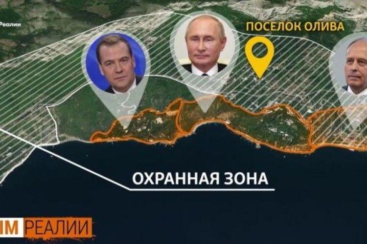 «Кримська дача» Путіна: паркан у 6 метрів, охоронна зона й закритий пляж