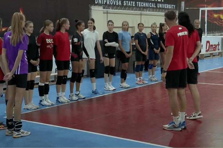 Прометей відібрав волейболісток для нової команди (Відео)