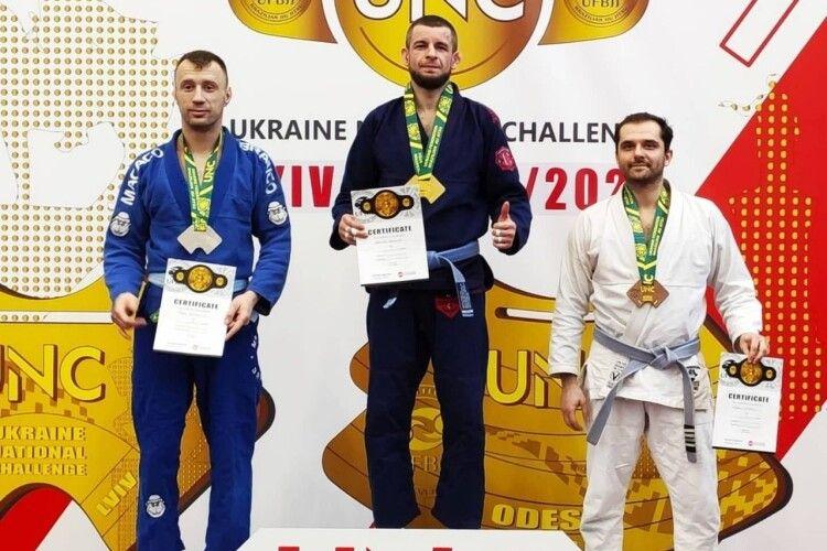 Лучанин в кімоно став чемпіоном з бразильської боротьби і привіз додому чотири медалі з міжнародних змагань (Фото)