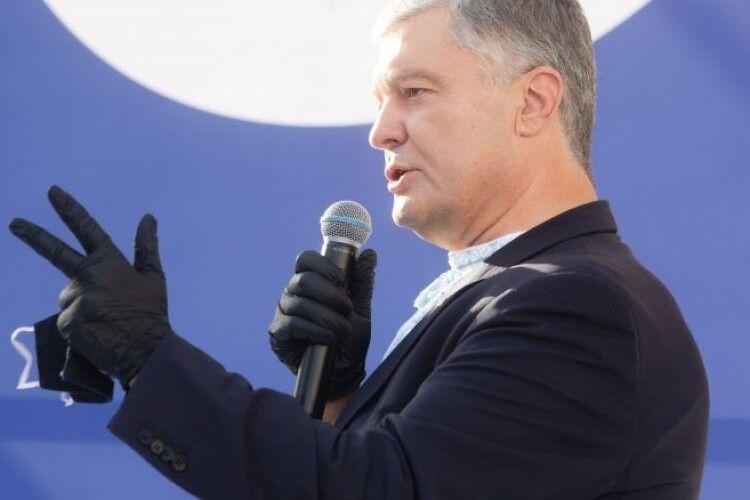 Порошенко: наша вимога до Зеленського – негайно звільніть Татарова