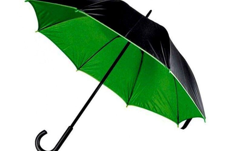 Не сушіть парасолю розгорнутою