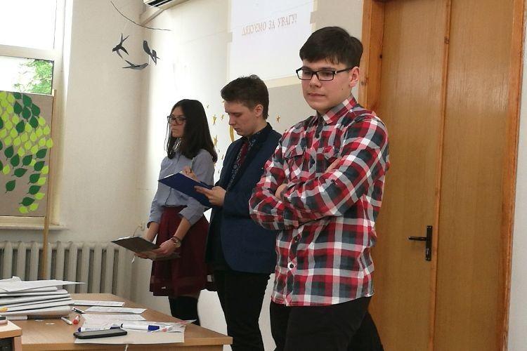 У Луцьку дискутували майбутні володарі громадської думки (Фото)