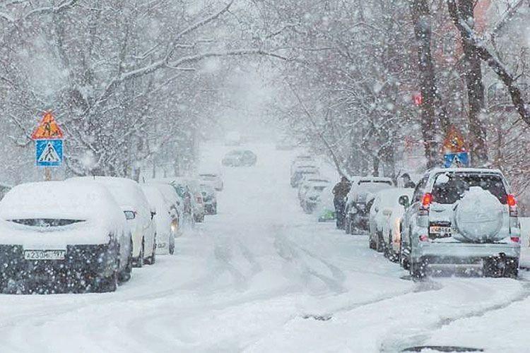 Сніг, якзавжди, випав… несподівано