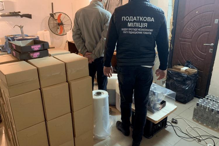 У Ківерцівському районі розливали контрафактну горілку (Фото)