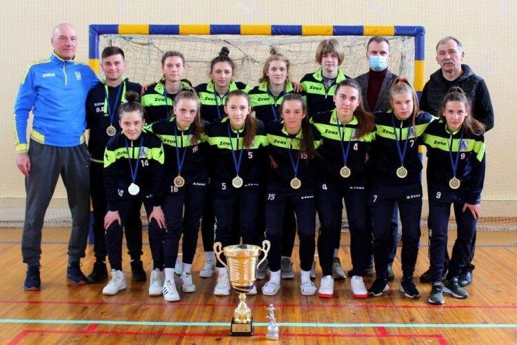 Волинські футзалістки виграли чемпіонат України