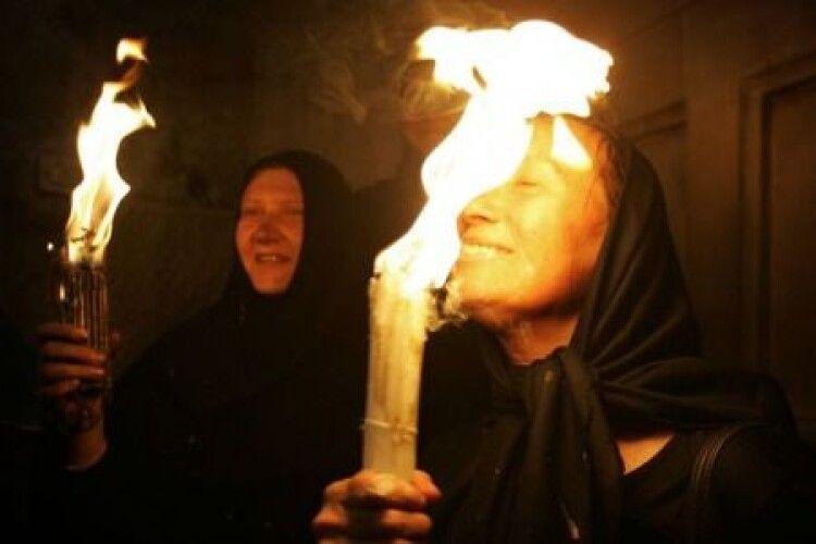 Сходження Благодатного вогню 2021 у Єрусалимі (Наживо)